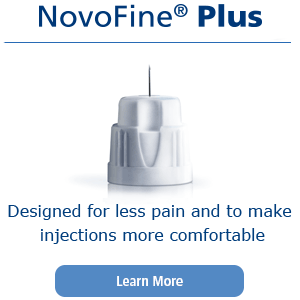 Designed for less pain and to make injections more comfortable